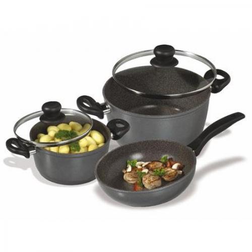 STONELINE - Комплект кухненски съдове за готвене от 5 части